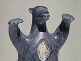Bear Spirit Possessing (1982) Soapstone/ Ivory
