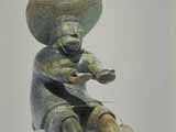 Shaman's Return from the Moon (1984) Brazilian soapstone