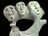 Inua 'Spirit World of the Inuit' (1986) Brazilian Soapstone
