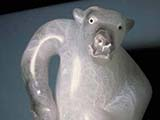 Bear Man's Journey (1986) Italian crystal alabaster/ limestone