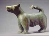 Dog with Man-tail (1983) Brazilian soapstone