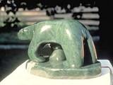 Running Bear  (1974) B.C. nephrite jade
