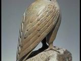 Peregrine Falcon  (1983) Brazilian soapstone/ inlay