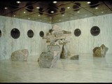 The Gateway to the North (1988) Sandstone/ Black granite