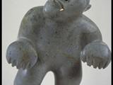 Bearman Flexing (1991) Brazilian soapstone/inlay