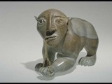 Drawing out Evils (1995) Brazilian soapstone/Sinew
