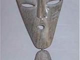 Eyes of the Wind (2002) Brazilian Soapstone on Base