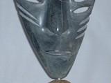 The Many-Eyed Shaman (2001) Brazilian Soapstone with inlay